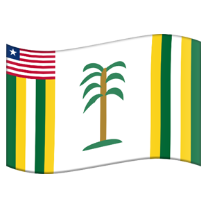 Liberian County Flag Stickers messages sticker-6