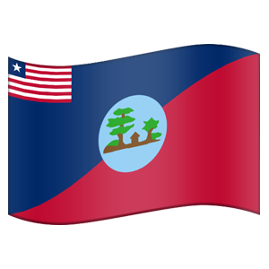 Liberian County Flag Stickers messages sticker-10