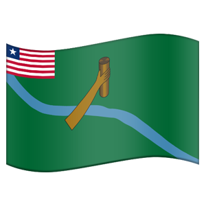 Liberian County Flag Stickers messages sticker-7