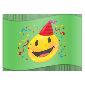 Emojipedia Flag Stickers messages sticker-10