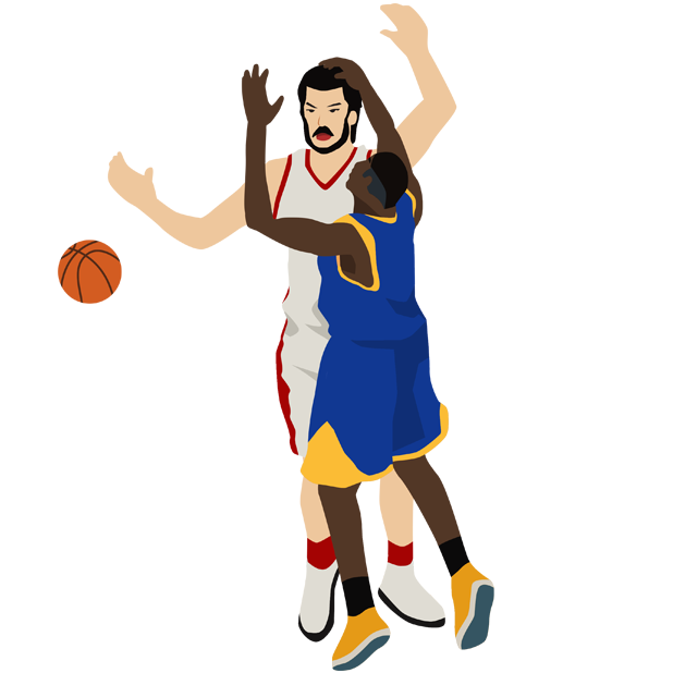 Basketball Animations messages sticker-2