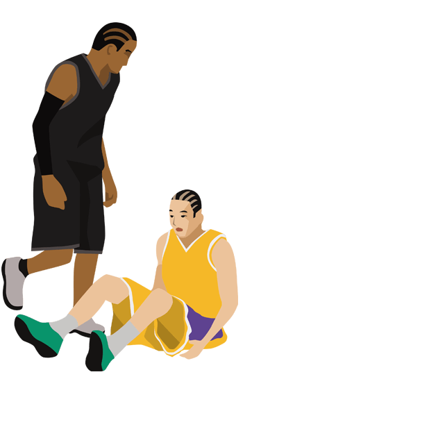 Basketball Animations messages sticker-9
