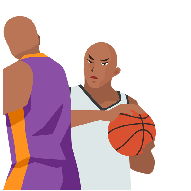 Basketball Animations messages sticker-1