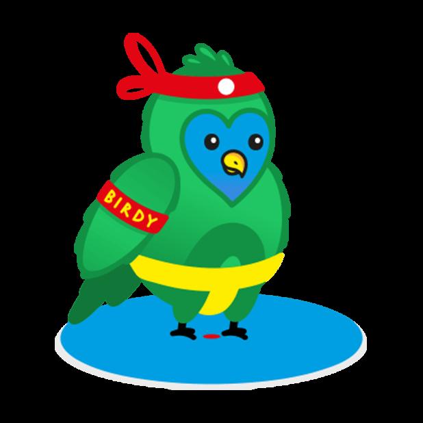 Birdy Sticker Pack messages sticker-10