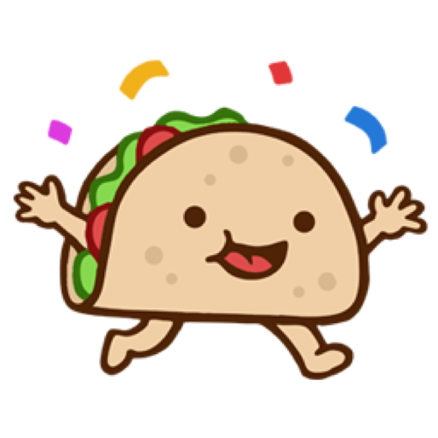 Silly Taco Sticker Pack messages sticker-3