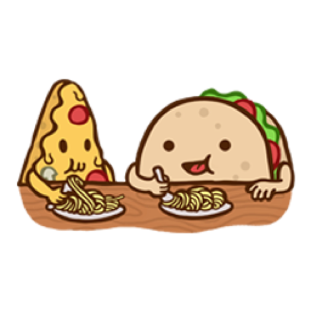 Silly Taco Sticker Pack messages sticker-9