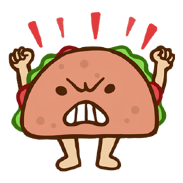 Silly Taco Sticker Pack messages sticker-2