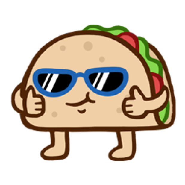 Silly Taco Sticker Pack messages sticker-0