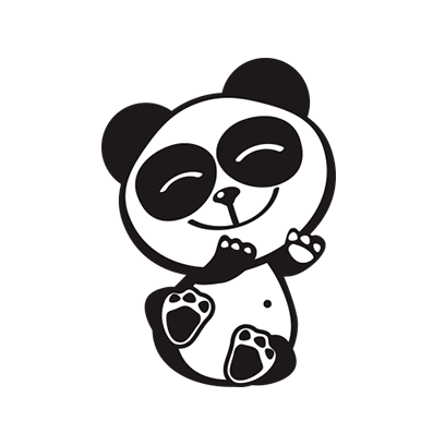 Happy Panda Stickers messages sticker-4