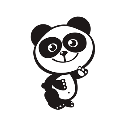 Happy Panda Stickers messages sticker-0