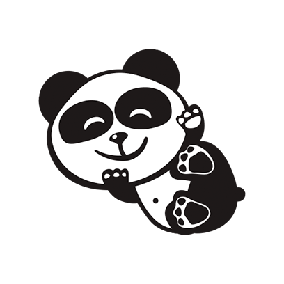 Happy Panda Stickers messages sticker-1
