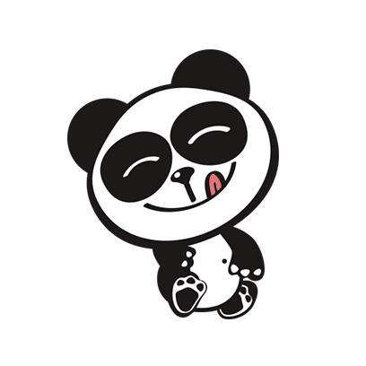 Happy Panda Stickers messages sticker-7