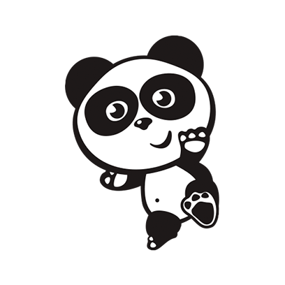 Happy Panda Stickers messages sticker-2