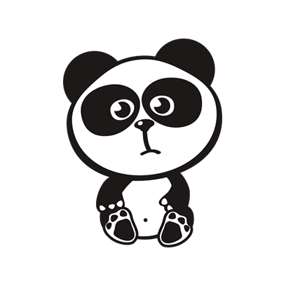 Happy Panda Stickers messages sticker-11