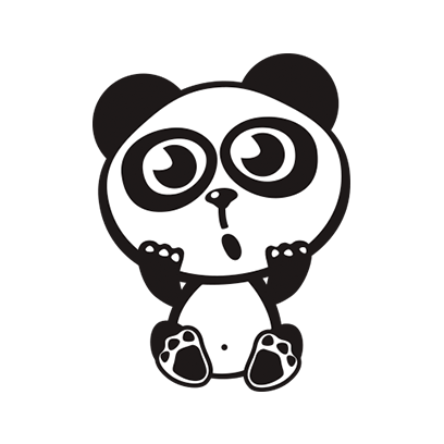 Happy Panda Stickers messages sticker-9