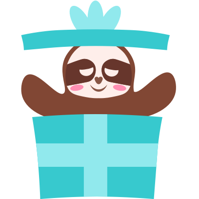 Sloth Halloween Domoji messages sticker-7