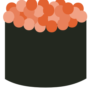Sushi Sticker Pack for iMessage messages sticker-1