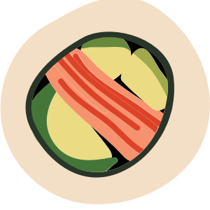Sushi Sticker Pack for iMessage messages sticker-0