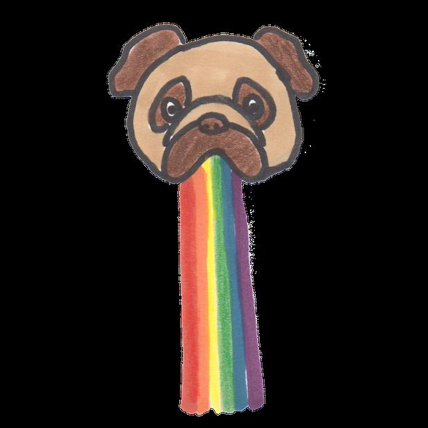 LGBT+ Pride messages sticker-6