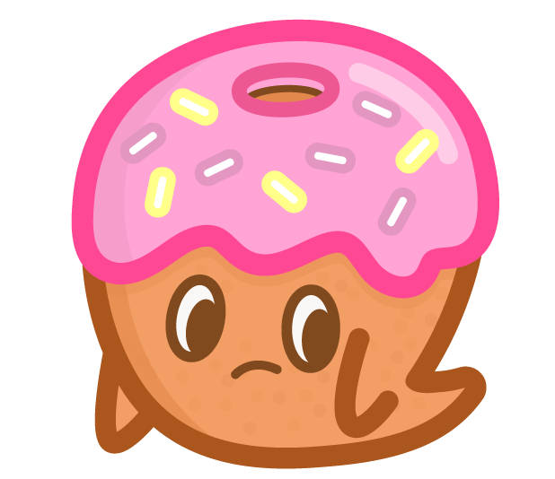 Donut Ghost messages sticker-7