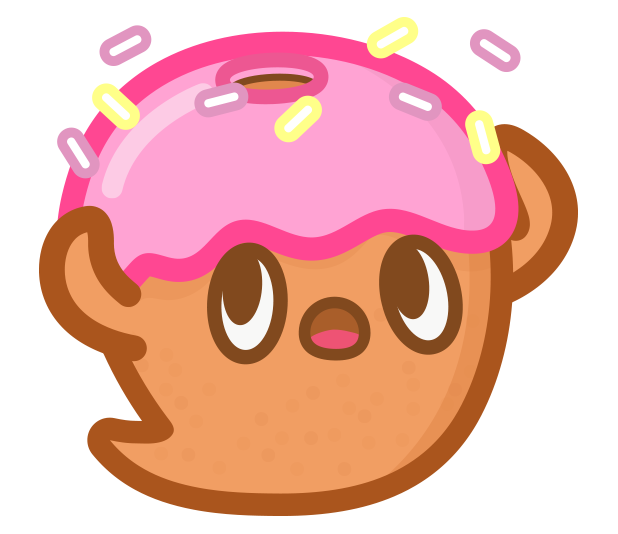 Donut Ghost messages sticker-2
