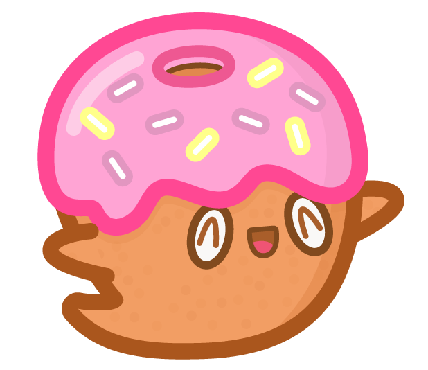 Donut Ghost messages sticker-0