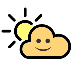 WeatherKins | Kawaii Weather Emoji messages sticker-0