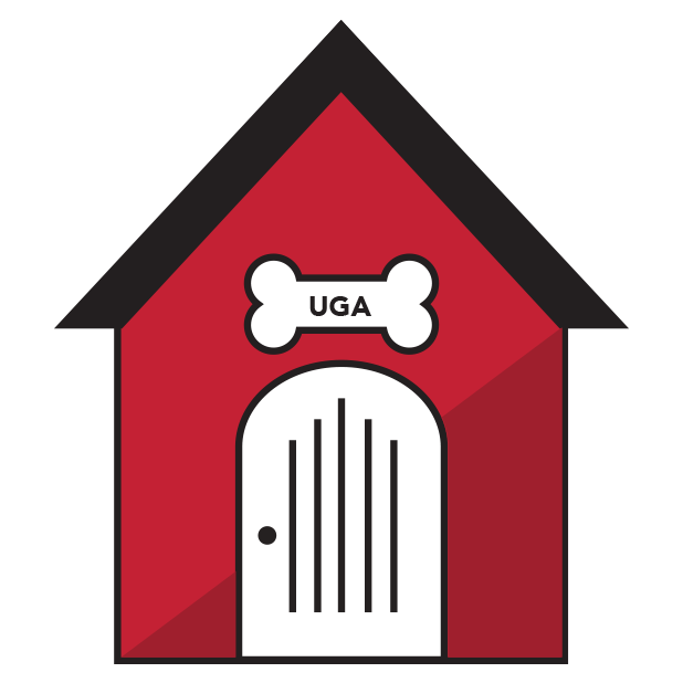 UGA Stickers messages sticker-11