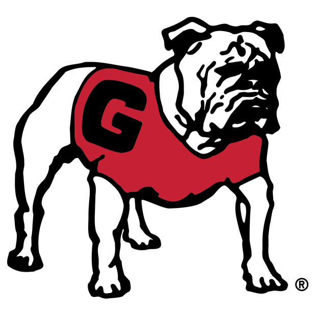 UGA Stickers messages sticker-4
