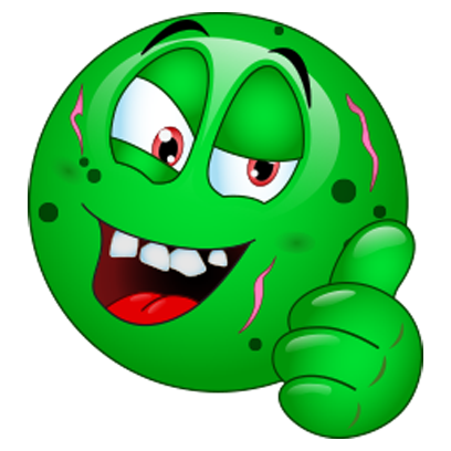 Halloween Monster Emojis messages sticker-3
