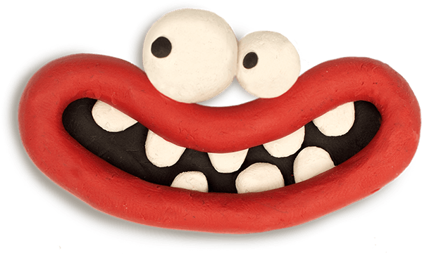 Aardman Face Bomb messages sticker-7