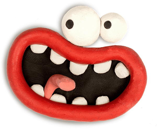 Aardman Face Bomb messages sticker-2