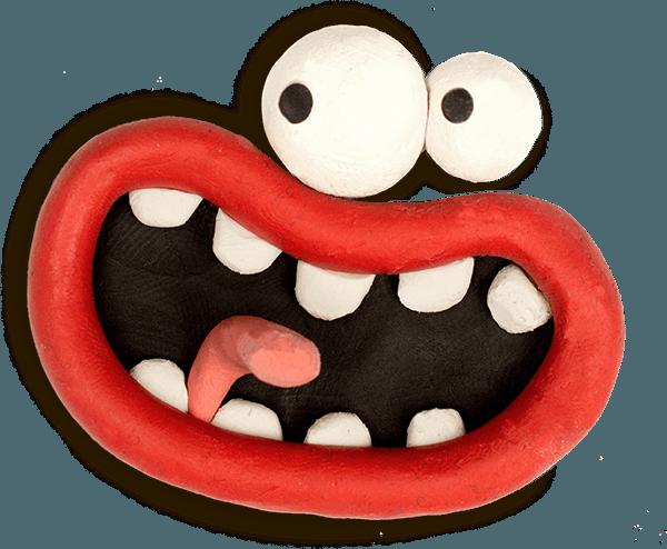 Aardman Face Bomb messages sticker-2