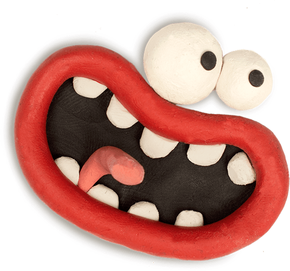 Aardman Face Bomb messages sticker-1