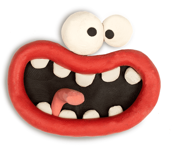 Aardman Face Bomb messages sticker-0