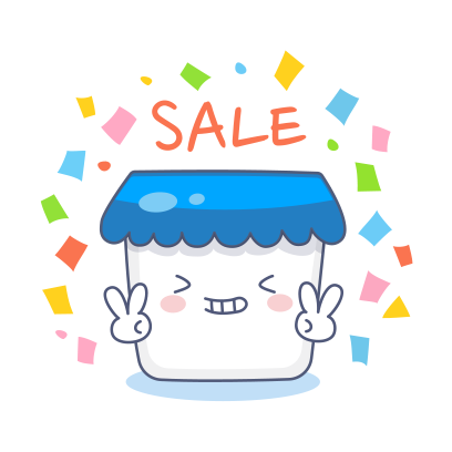 Sell with stickers by Ecwid messages sticker-1