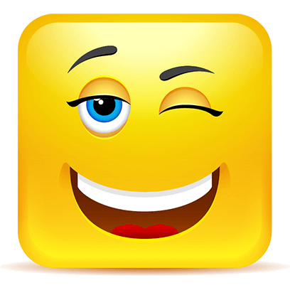 Yellow Square Smiley Emoji Stickers messages sticker-2