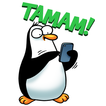 Penguen Stickers messages sticker-6
