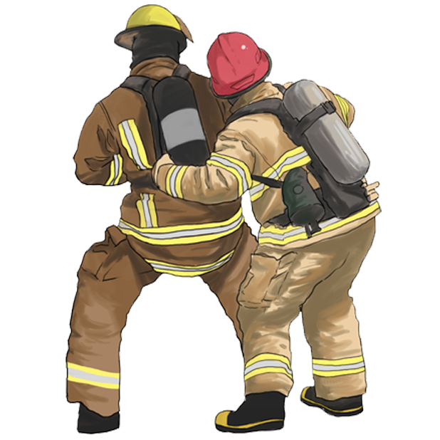 Firefighter Stickers messages sticker-9
