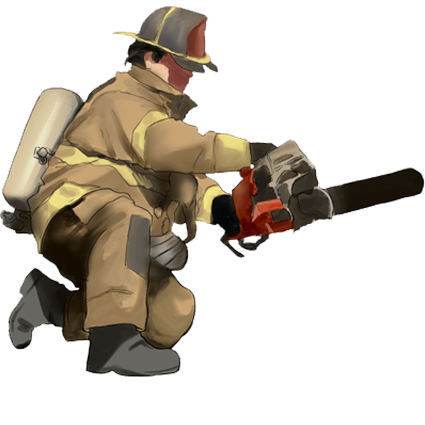 Firefighter Stickers messages sticker-2