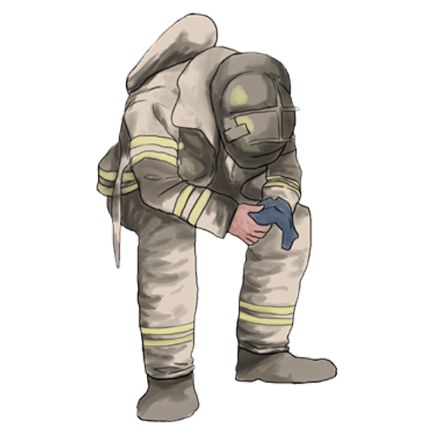 Firefighter Stickers messages sticker-10