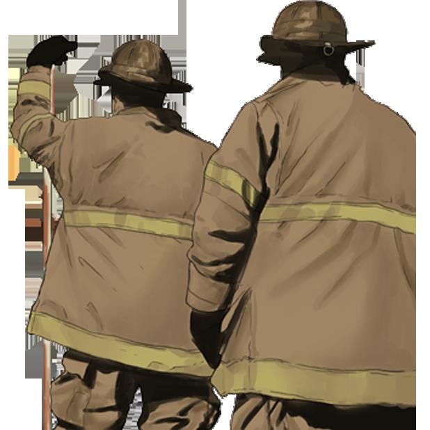 Firefighter Stickers messages sticker-0