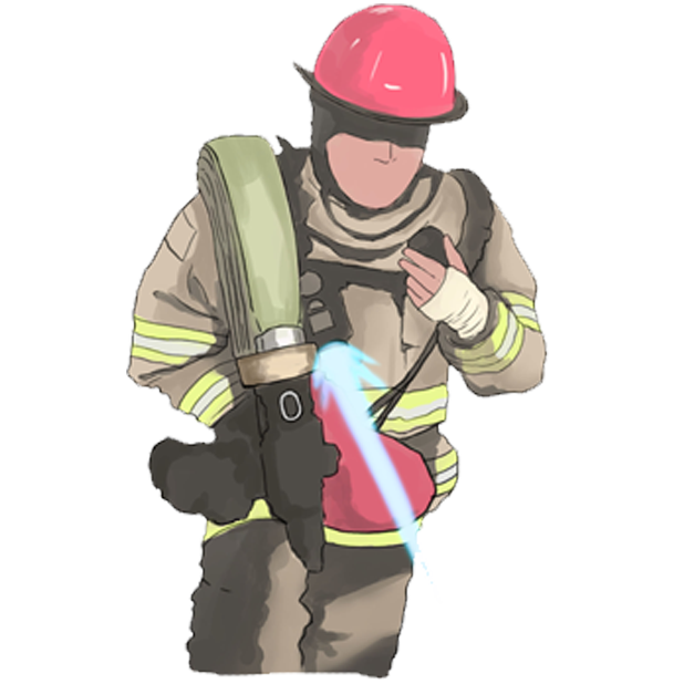 Firefighter Stickers messages sticker-8