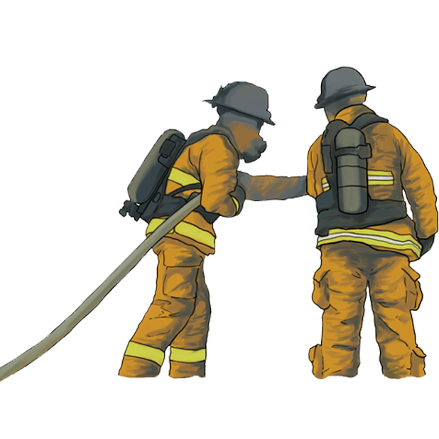 Firefighter Stickers messages sticker-11