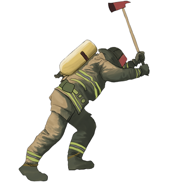 Firefighter Stickers messages sticker-1