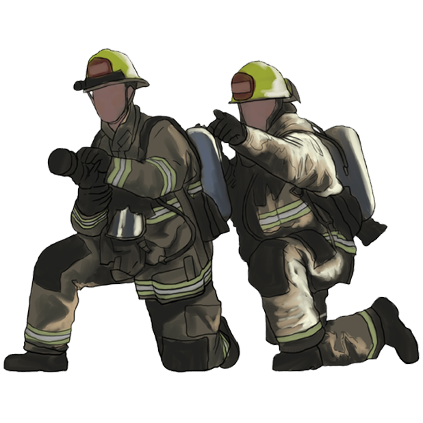 Firefighter Stickers messages sticker-5
