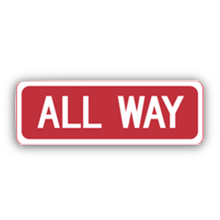 SignMoji: US Road Signs 1 messages sticker-7