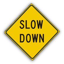 SignMoji: US Road Signs 2 messages sticker-3