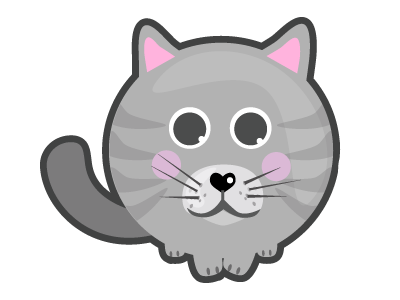 Cat Stickers for iMessage messages sticker-0