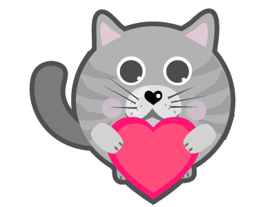 Cat Stickers for iMessage messages sticker-2